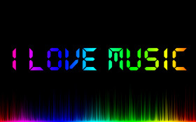 Tapeta ilovemusic