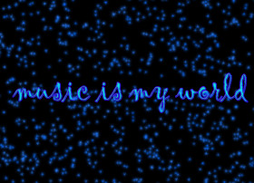 Tapeta music is my world